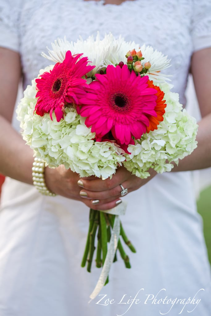 Wedding Photography Detail Shot, Flowers