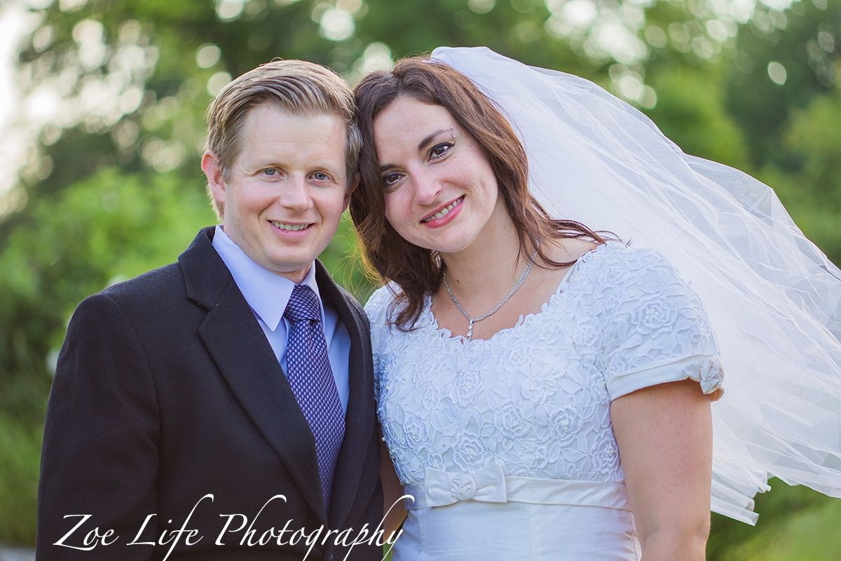 Bride and Groom Portrait, Wedding Photography