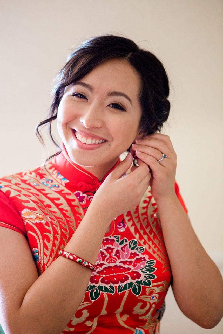 Nashville Wedding Photography, Chinese Wedding Earring