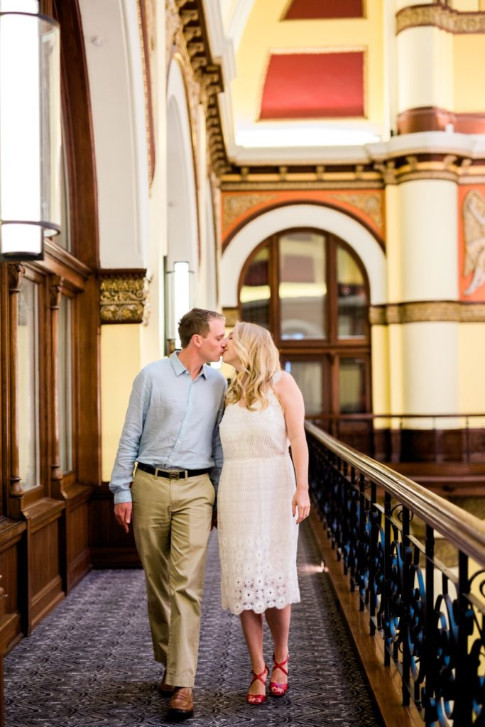Nashville Engagement Session at Union Station