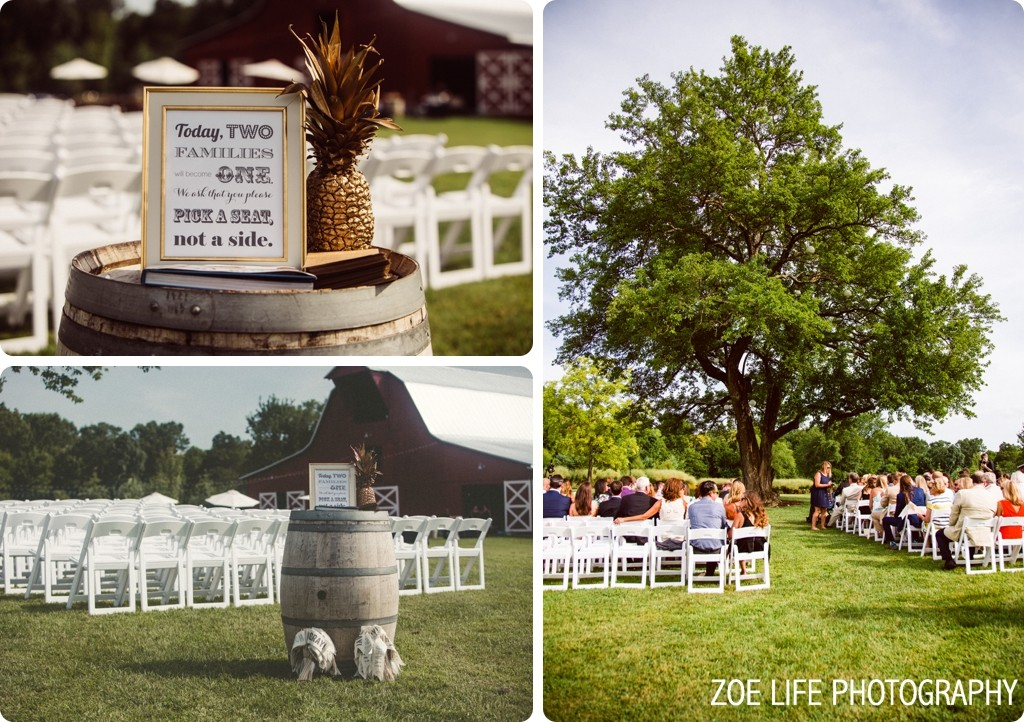 Arrington Vineyard Wedding