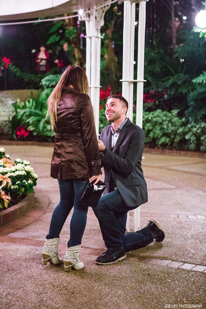 Opryland Hotel Surprise Proposal