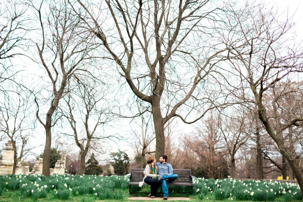 Saint Louis Engagement Photography, Tower Grove Park