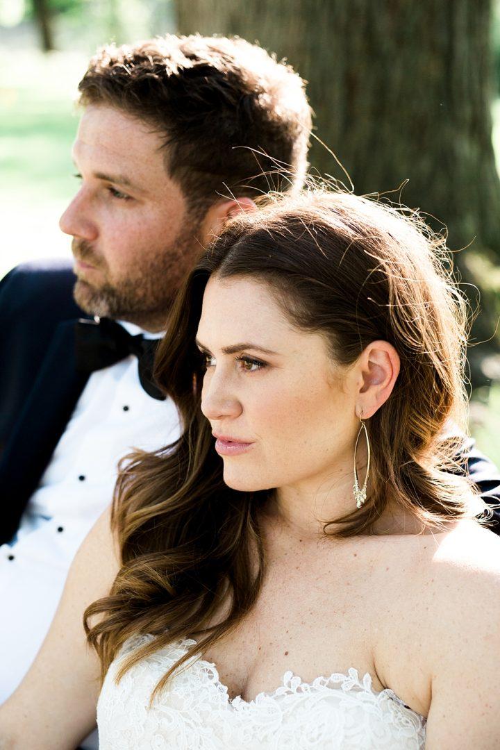 Film Look Bridal Portrait Wedding