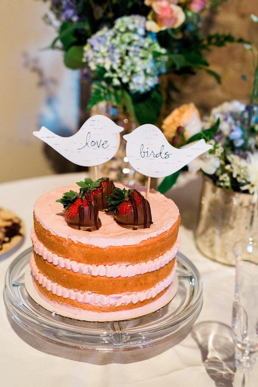 St. Louis Wedding Photography Wedding Cake