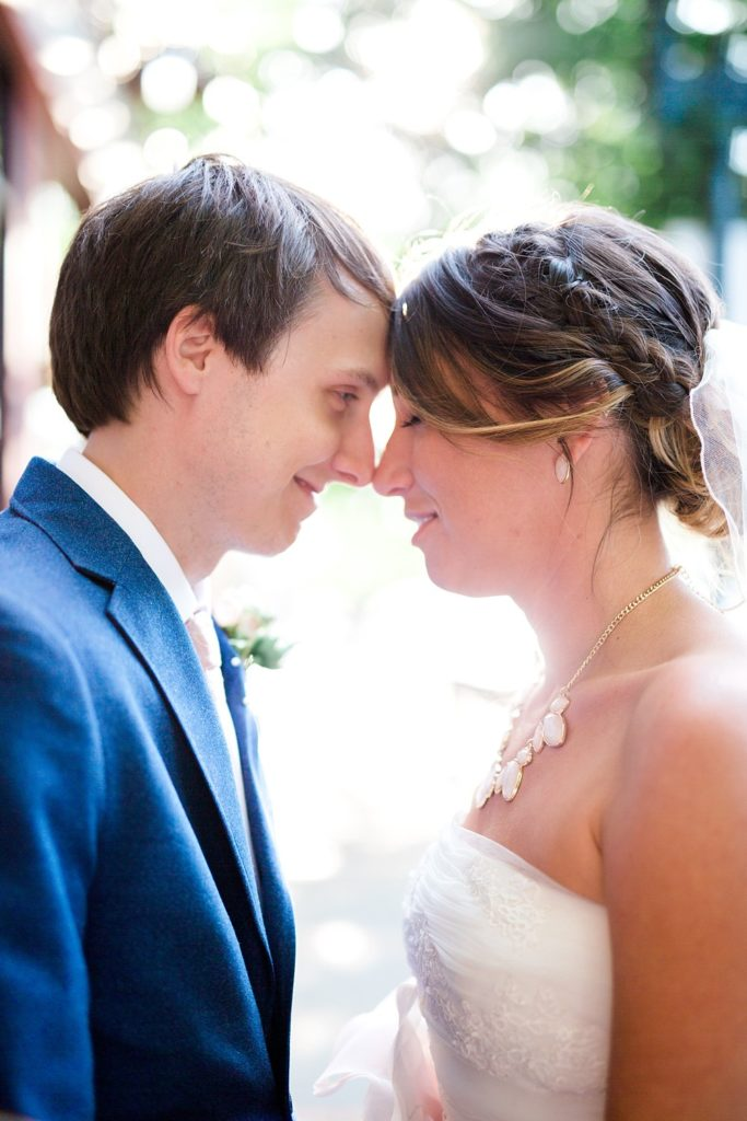 Bride and Groom Portrait St. Louis Wedding Photography