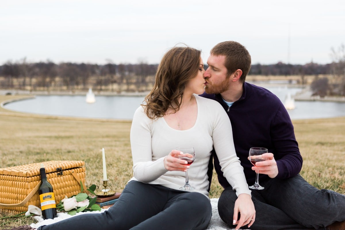 Forest Park Engagement Session