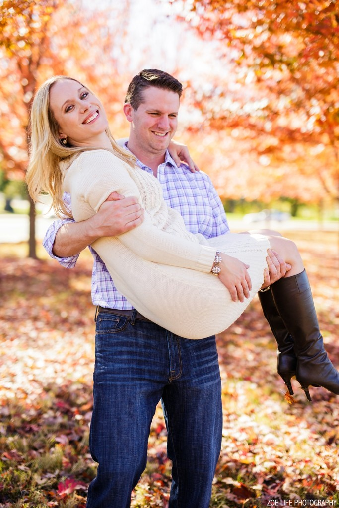 Forest Park Engagement Session Photography