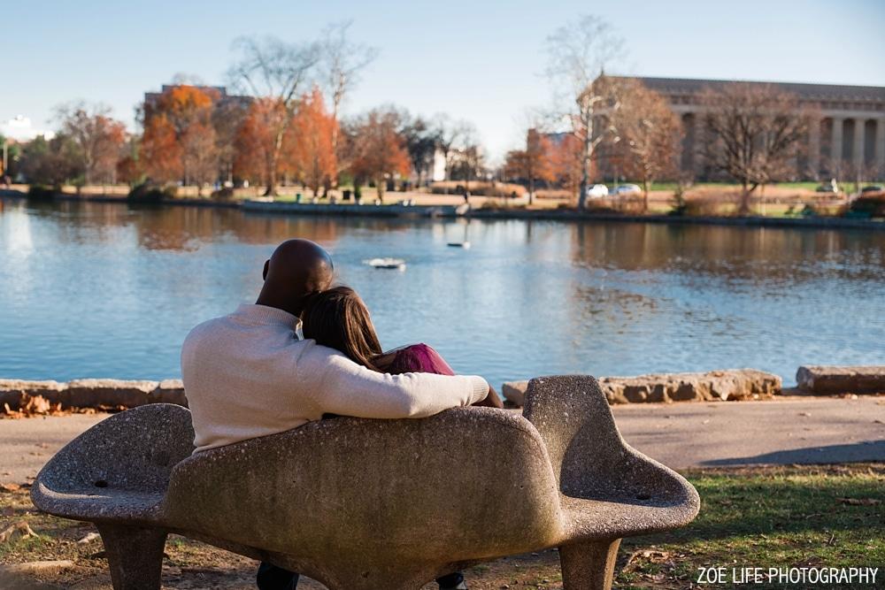 Centennial Park Nashville, TN Engagement Session
