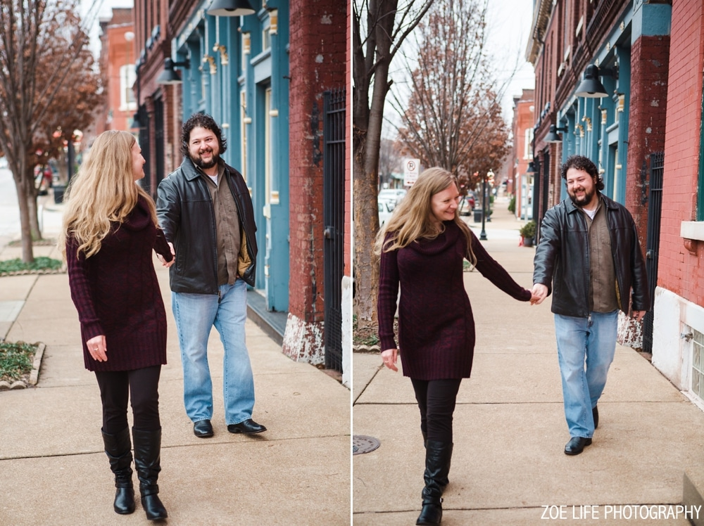 St. Louis Cherokee Street Engagement Photos