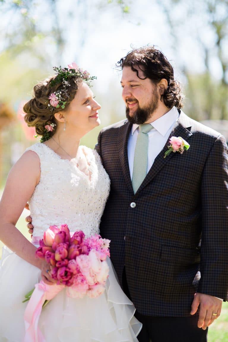 Willoughby Farm Wedding Portrait