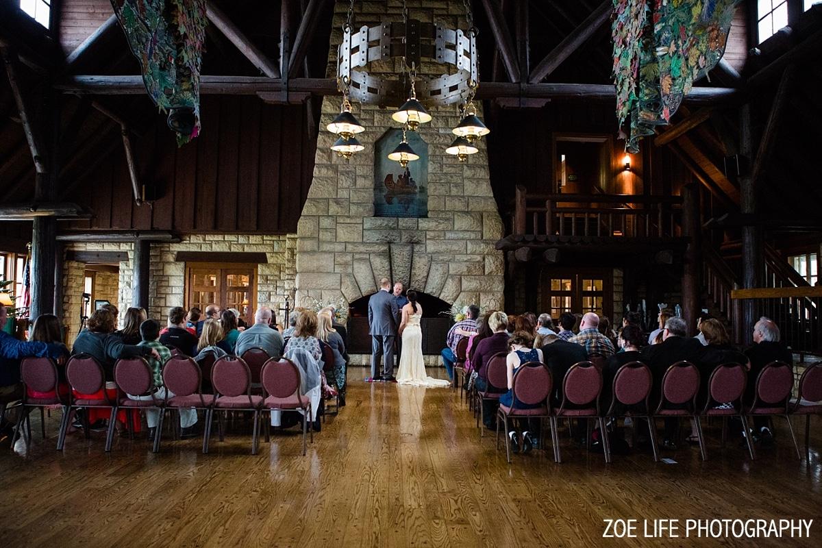 Pere Marquette Lodge Wedding