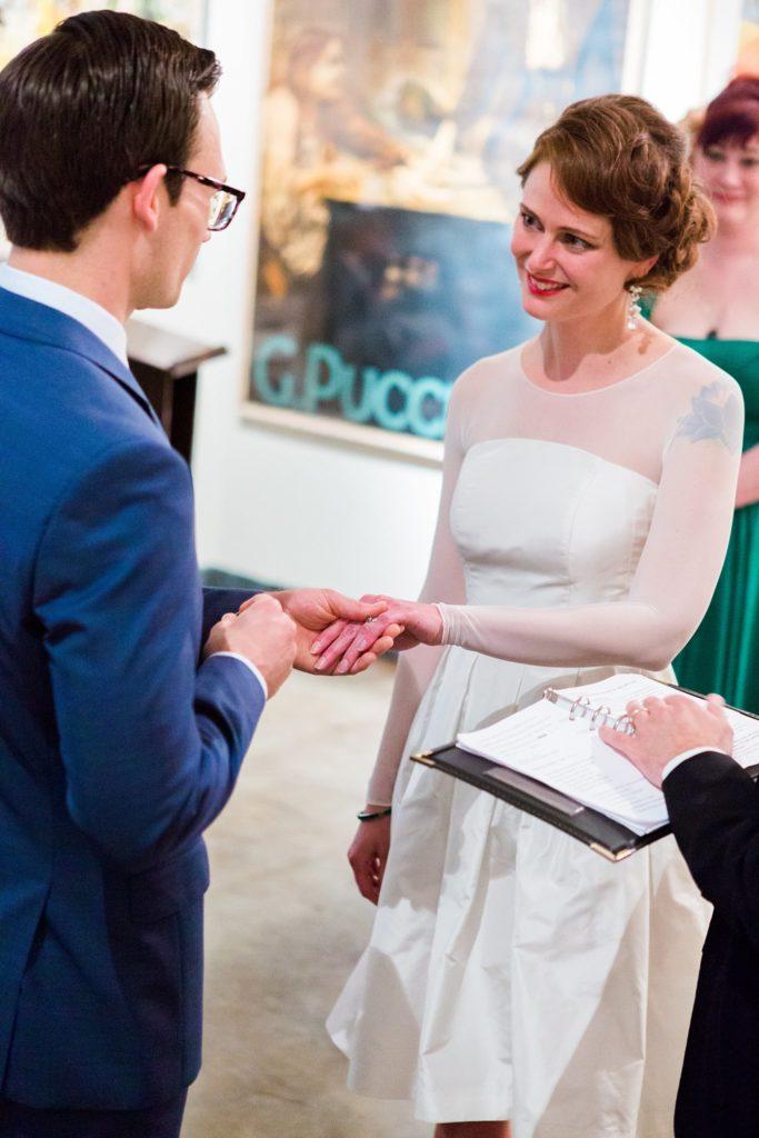 City Museum Vault Room Wedding
