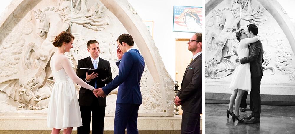 City Museum Vault Room Wedding, St Louis Wedding
