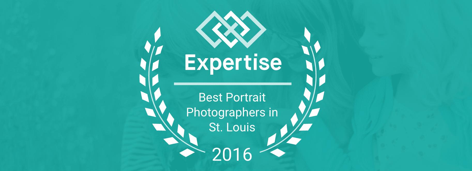 Expertise 2016 Best St. Louis Portrait Photographer List