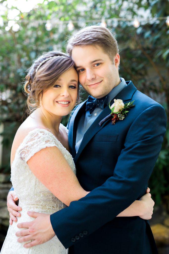 Bride and Groom Portrait, Nashville Wedding Photography