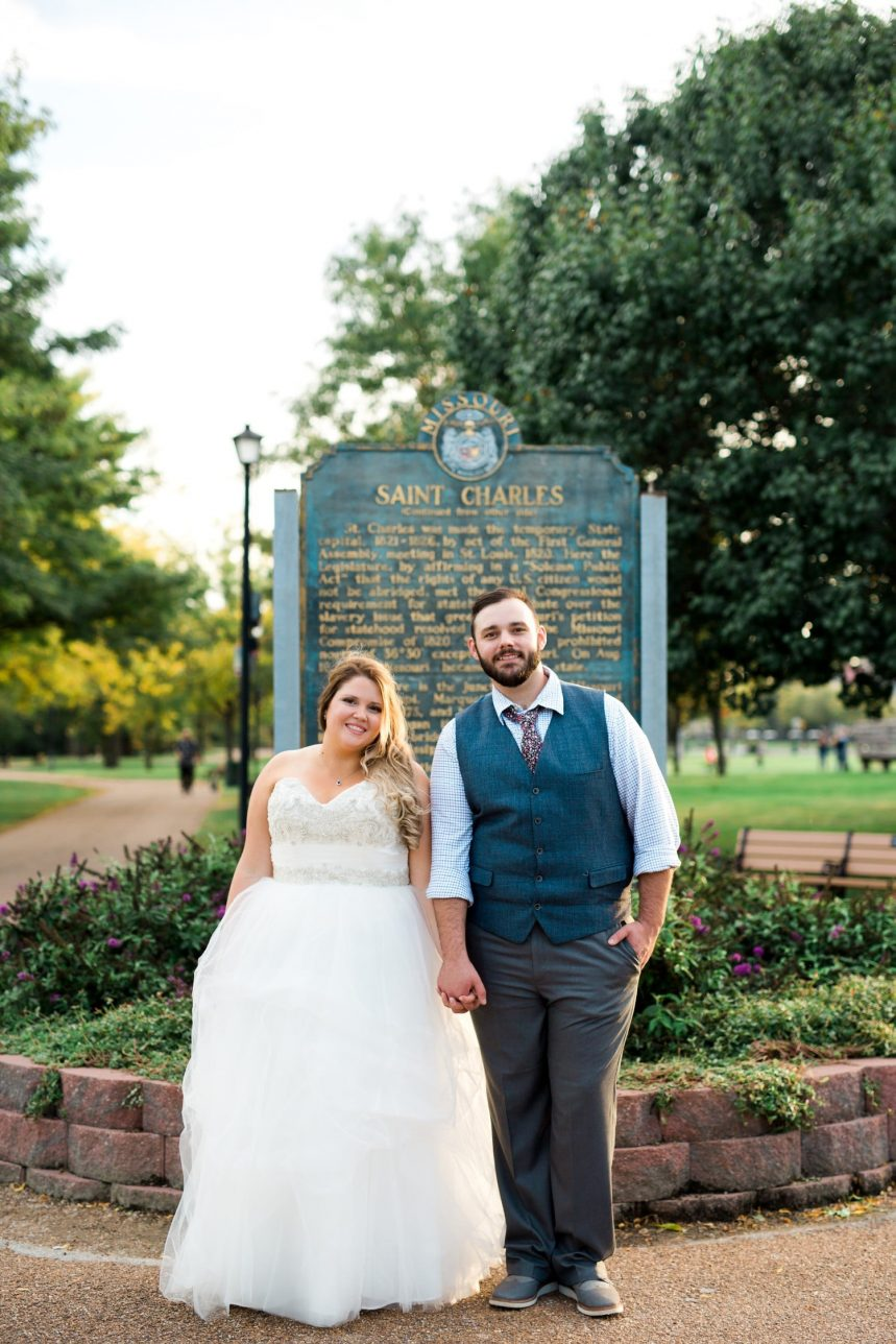 St. Charles MO Wedding Photography
