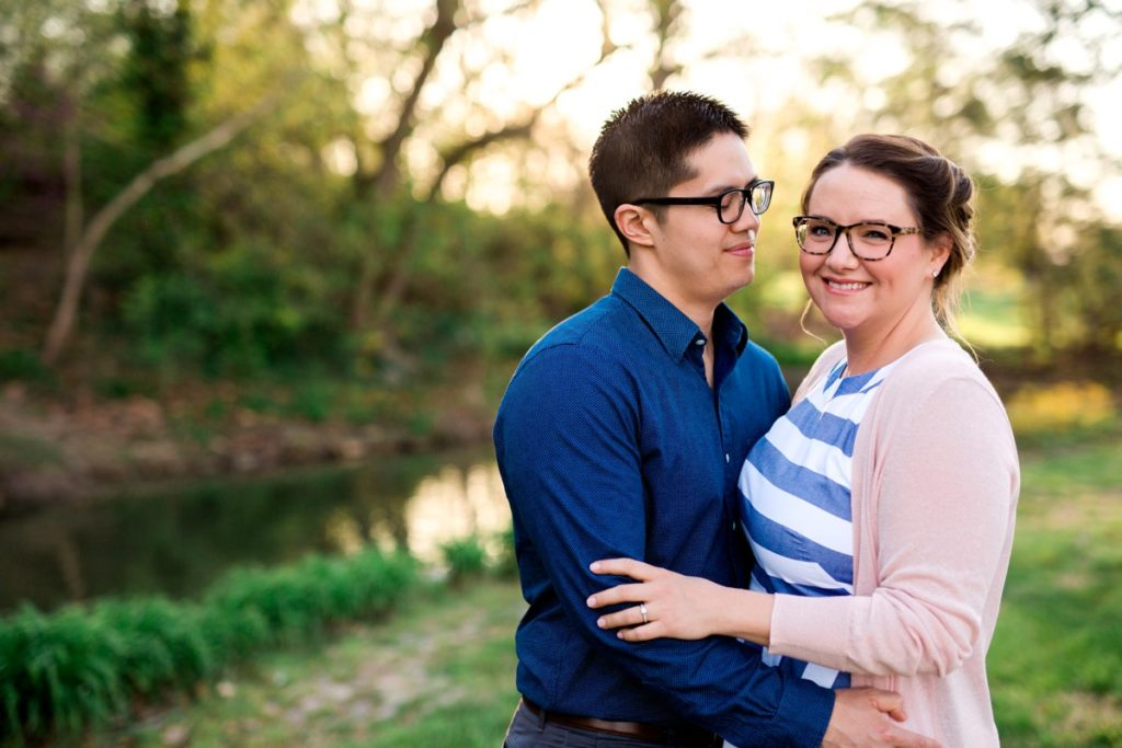 Forest Park Engagement Session: Stephanie & Tim