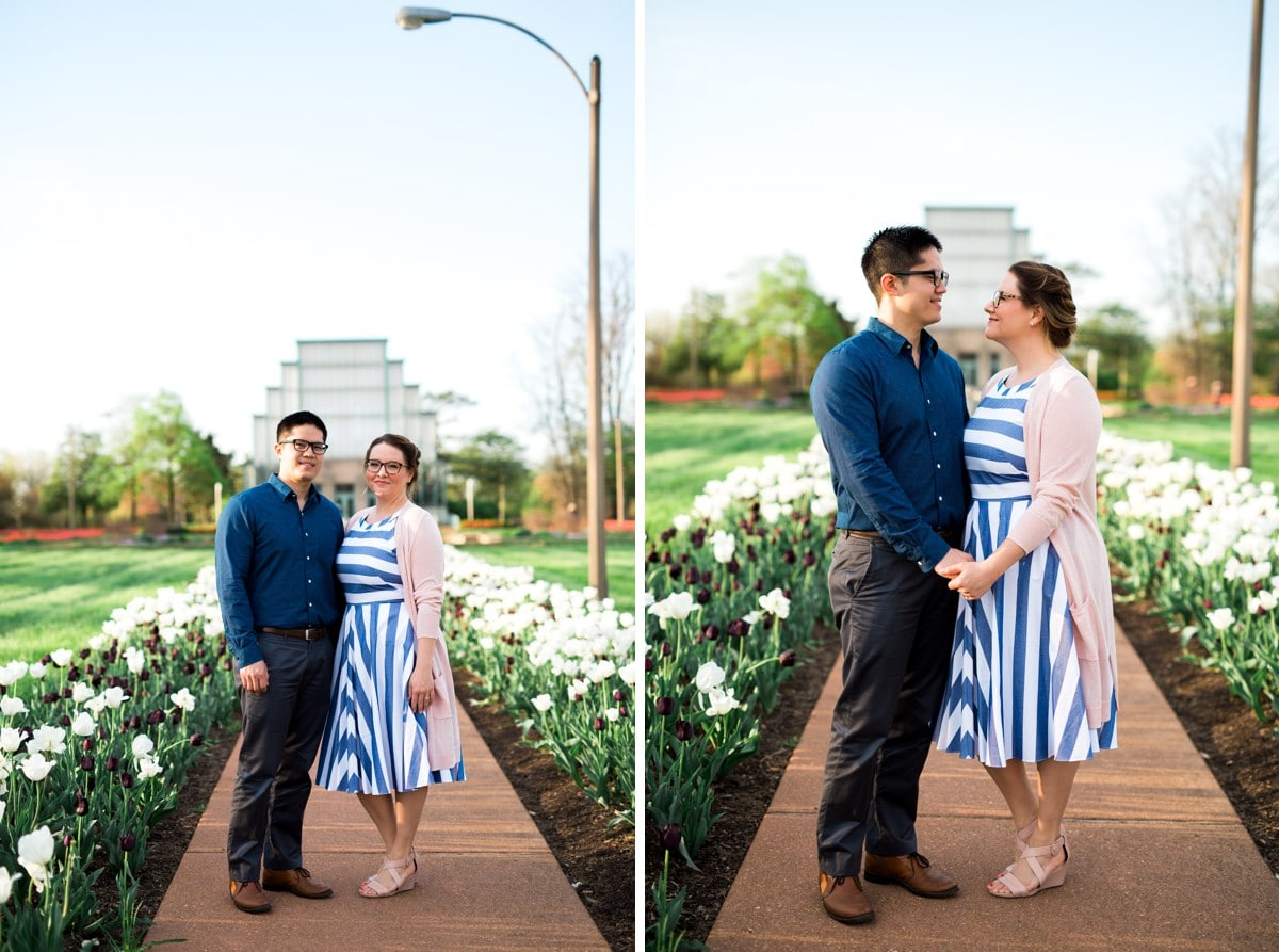 Saint Louis Forest Park Engagement Session