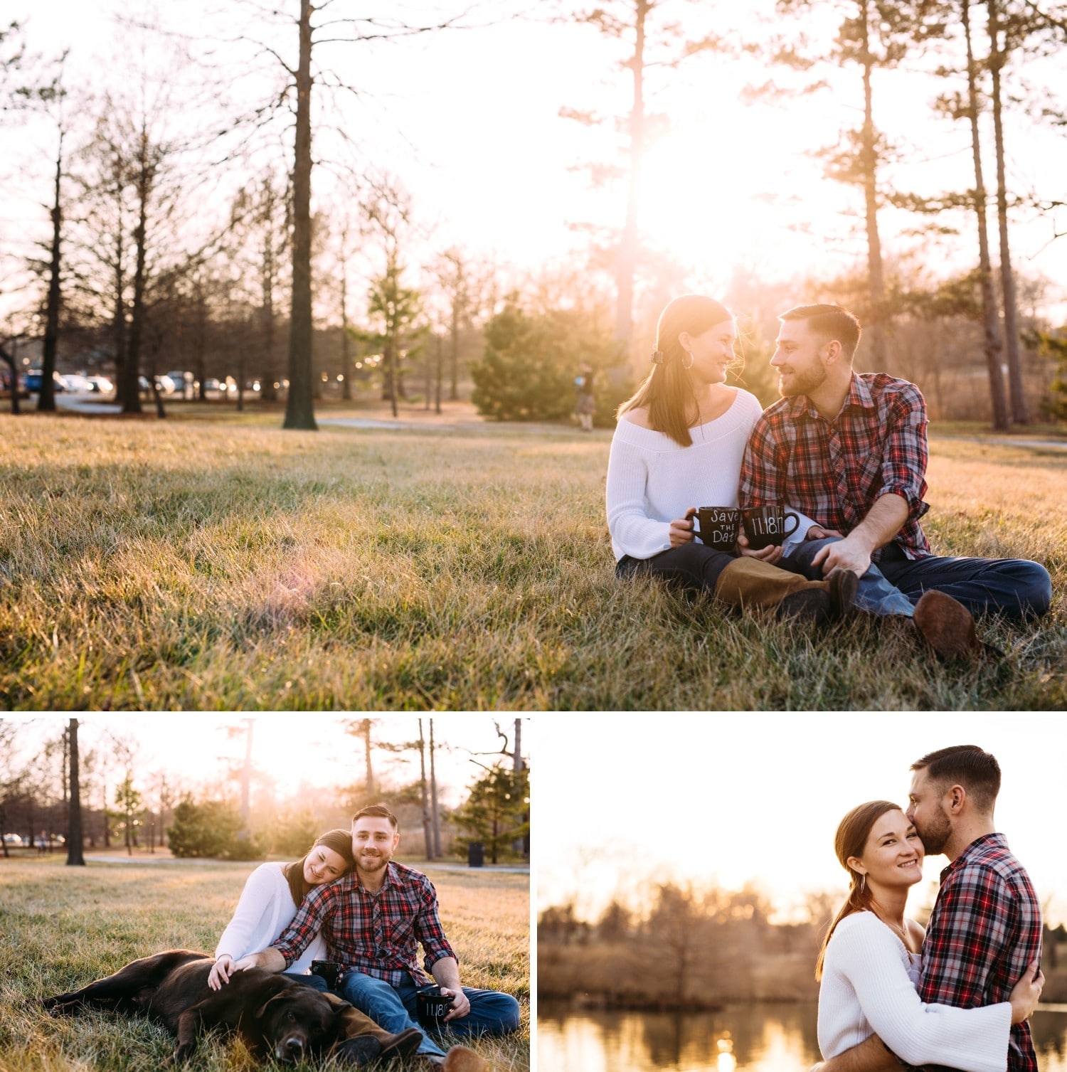 Saint Louis Forest Park World's Fair Pavilion Engagement Session
