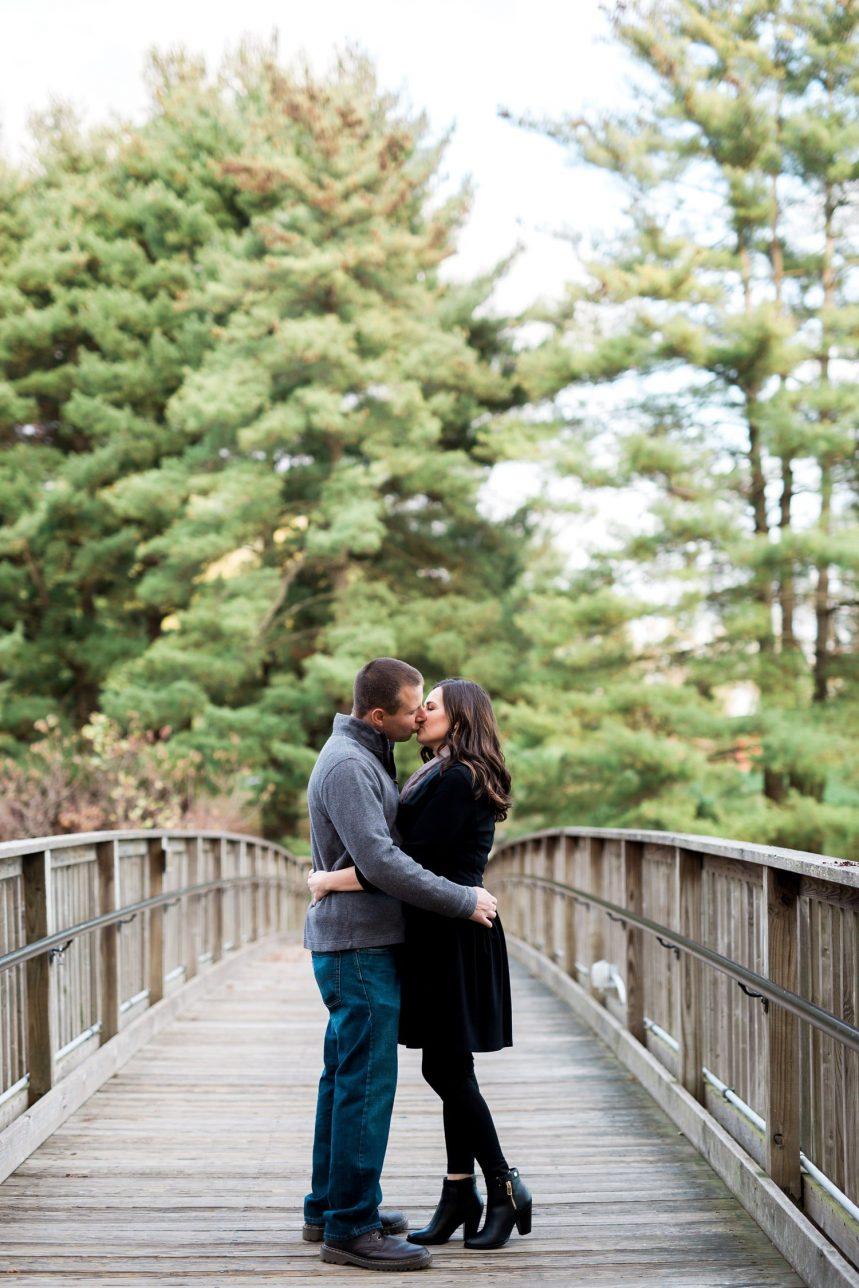 The Gardens at SIUE Edwardsville IL Engagement Session
