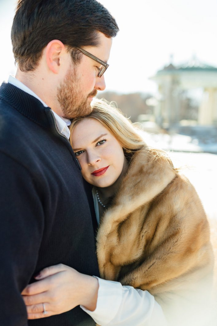 The Muny Winter Engagement Session