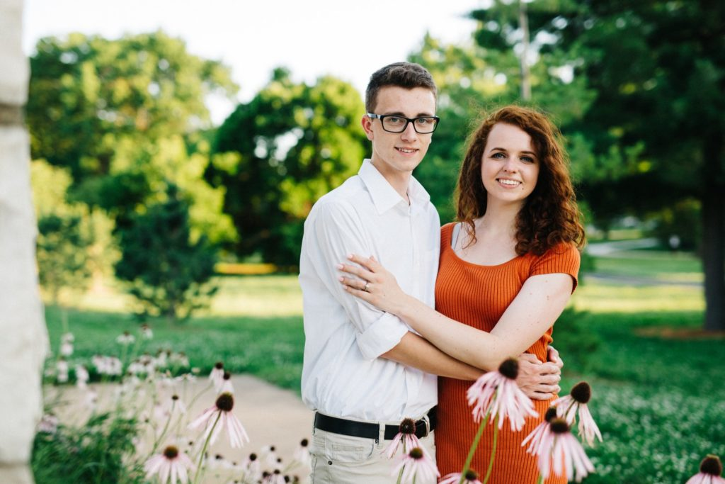 Forest Park Engagement Session: Hilary & Cody