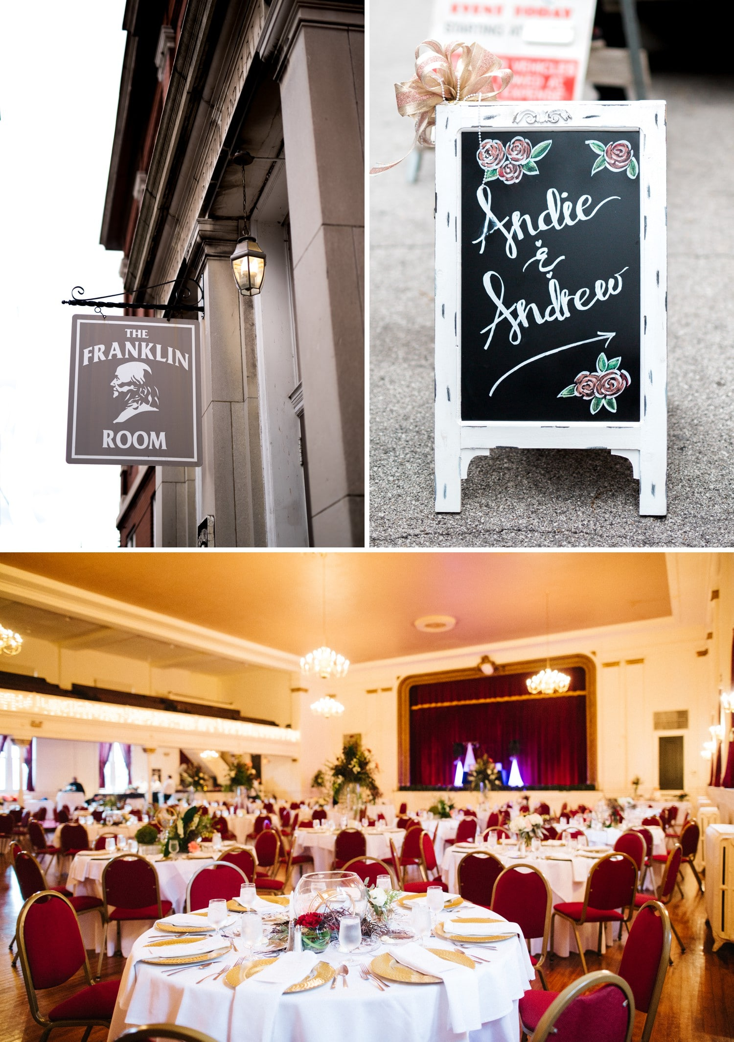 St Louis The Franklin Room Wedding Andie Andrew Nashville