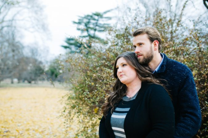 Fall Tower Grove Engagement Session