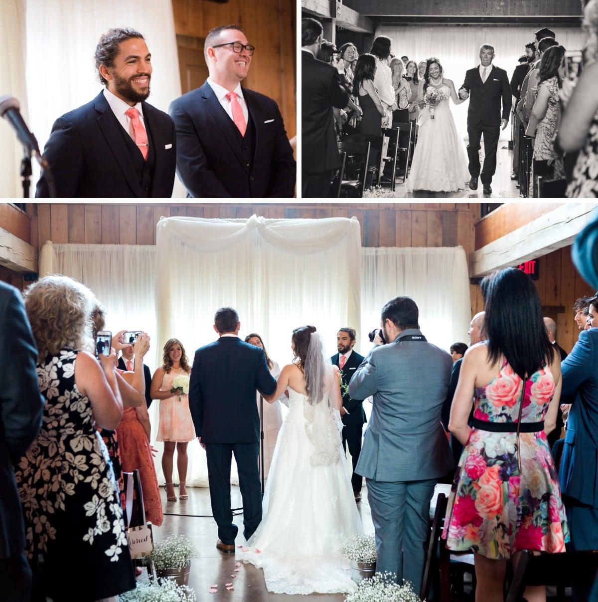 Nashville Green Door Gourmet Wedding, Nashville Wedding Photography, Wedding Ceremony
