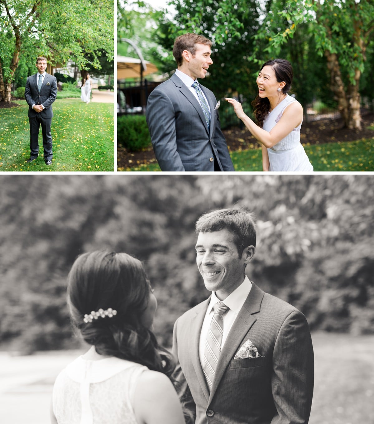 St. Louis Wedding Photographer, Wedding at Chesterfield's Bishop's Post