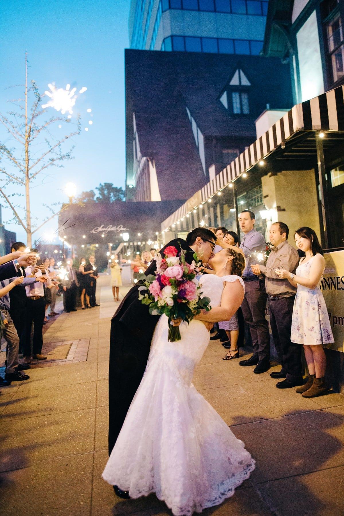 Clayton Seven Gables Inn Wedding