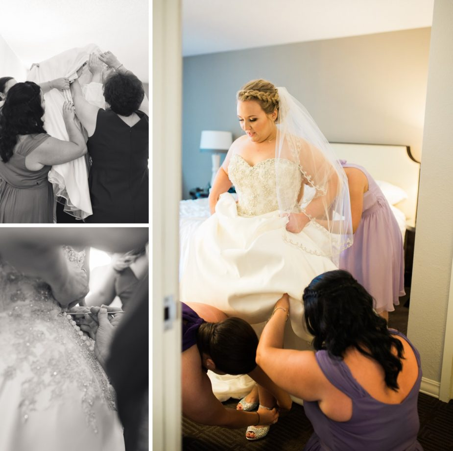 St. Louis Wedding Photographer, Getting Ready and Bridal Portraits