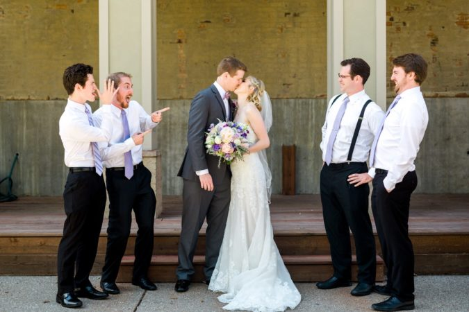 St. Charles Old Stone Chappel Wedding