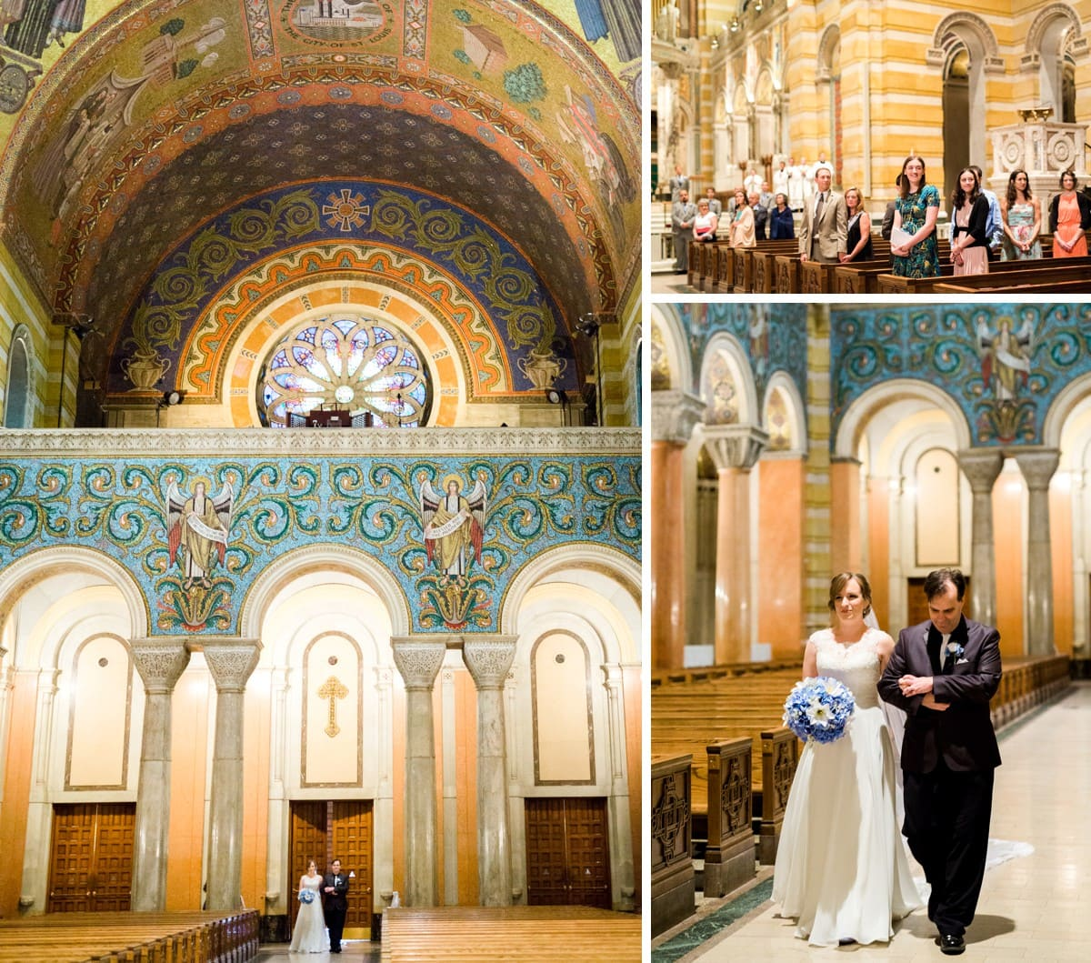 Wedding Gowns St Louis: Cathedral Basilica Of St. Louis Wedding: Lillian And Luis