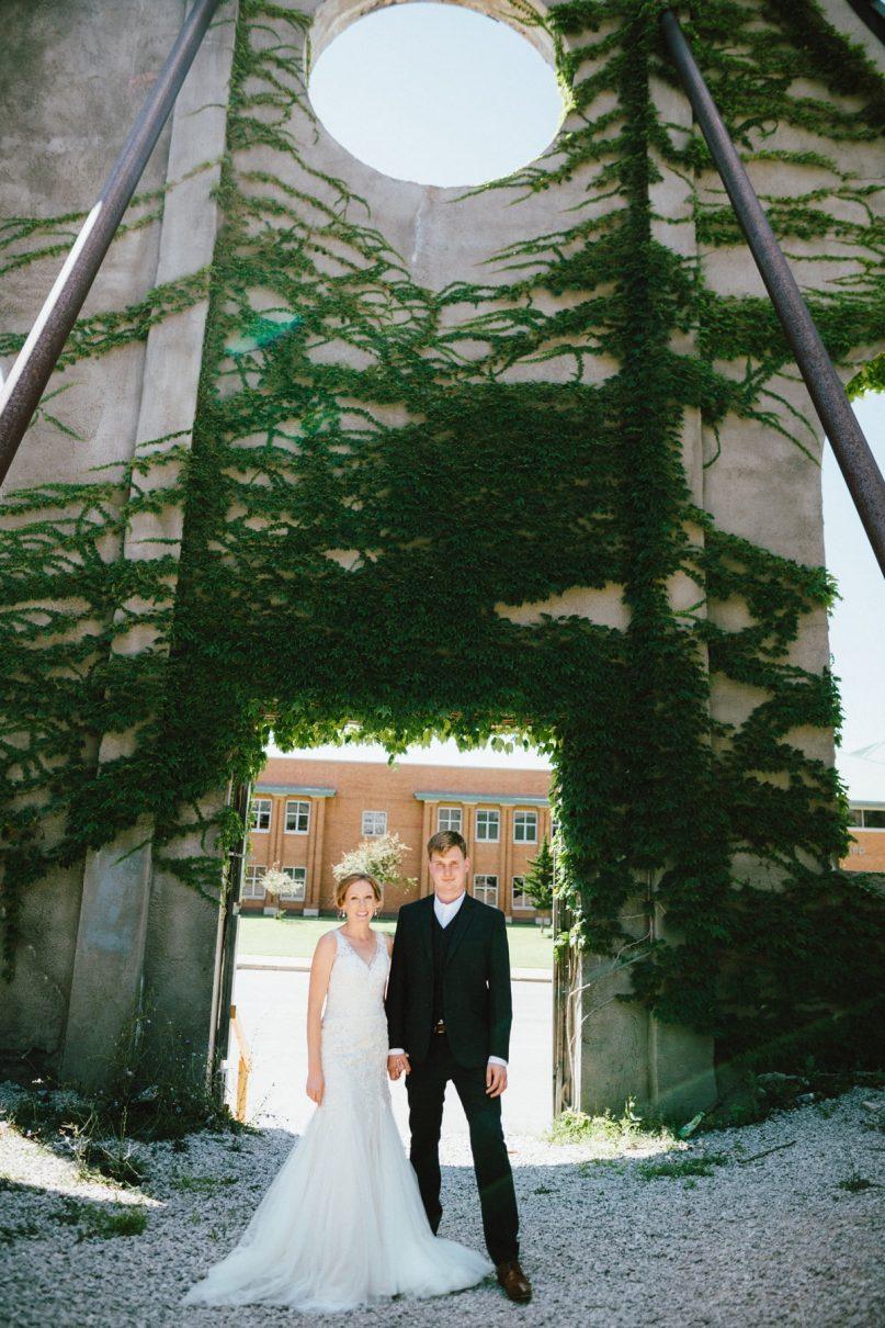 Saint Louis Wedding Photography, Bride and Groom Portrait