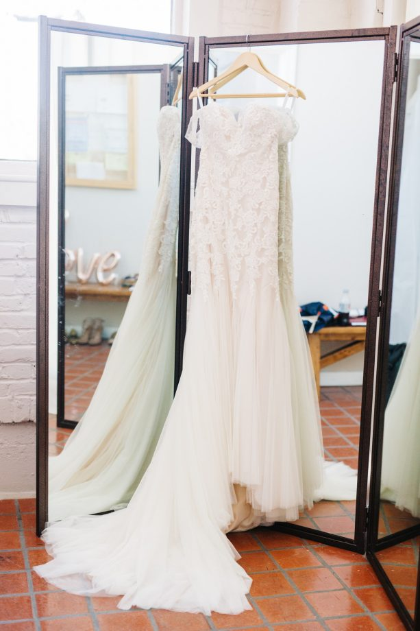 Saint Louis Wedding Photography, Wedding Dress Detail Shot