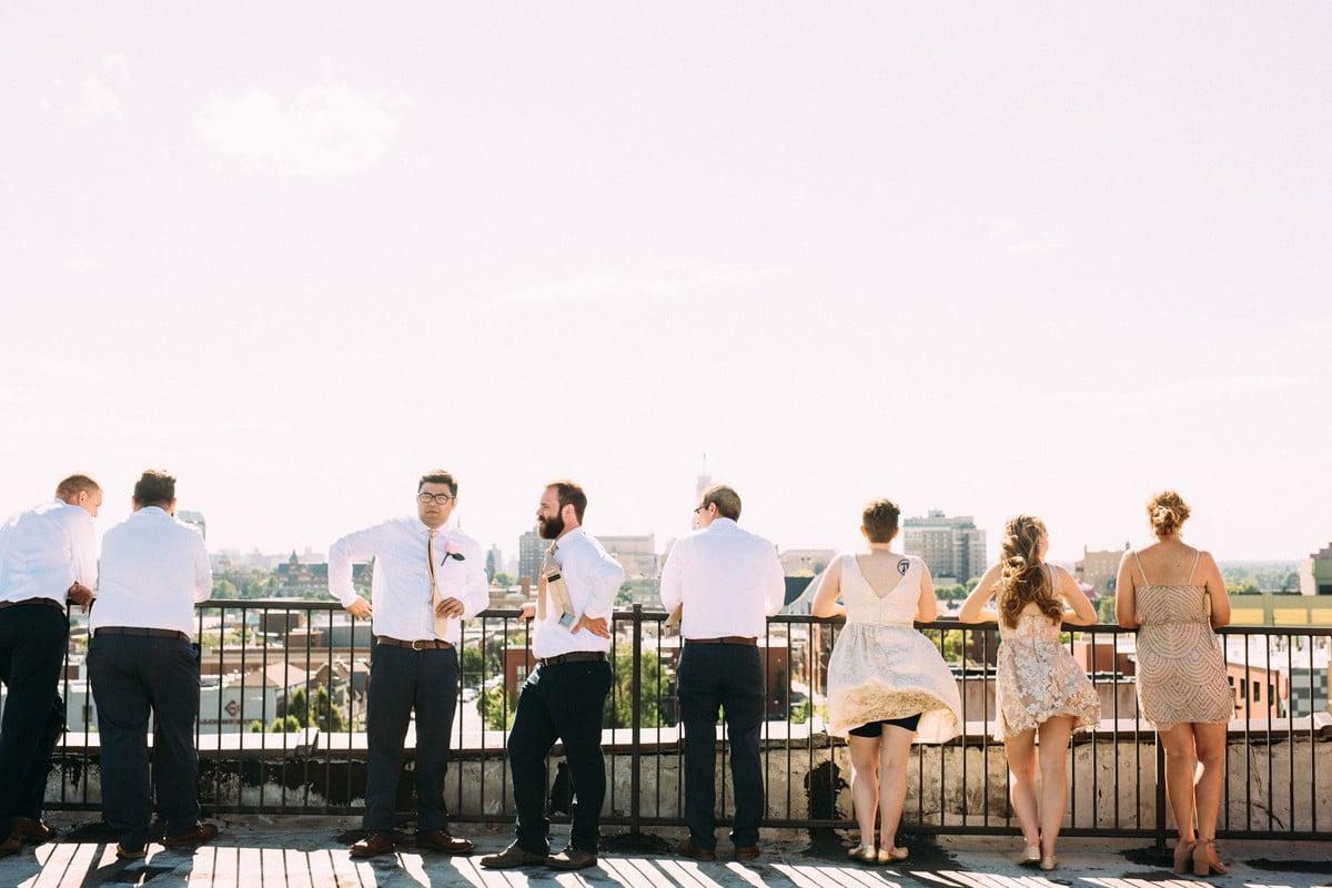 Saint Louis Wedding Photography, Neo on Locust, Rooftop