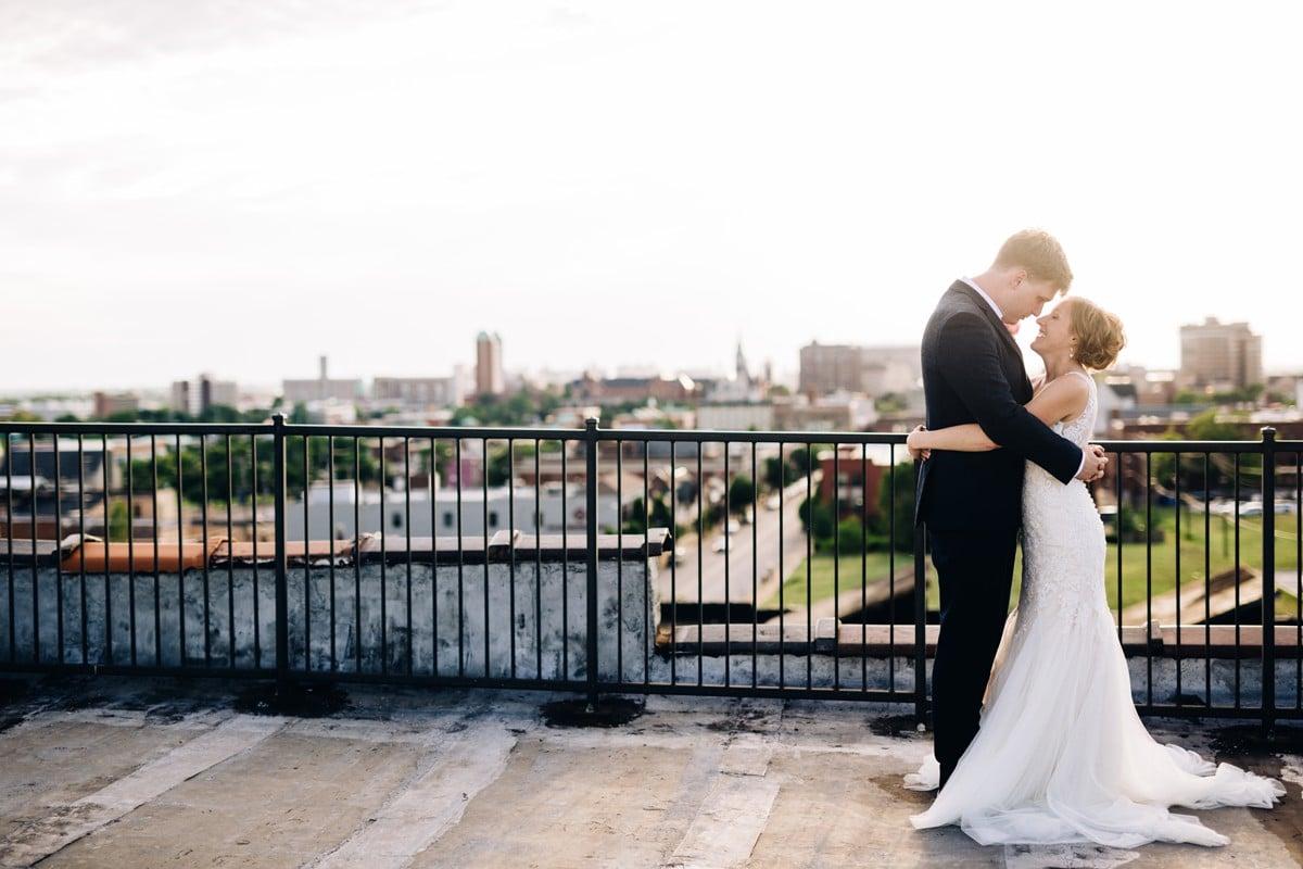 Saint Louis Wedding Photography, Neo on Locust, Bride and Groom Portrait
