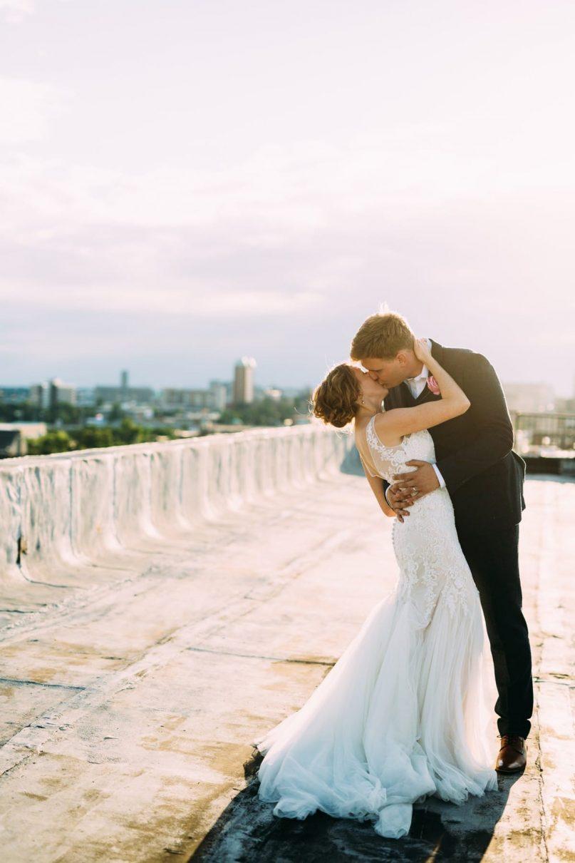 Saint Louis Wedding Photography, Neo on Locust, Bride and Groom