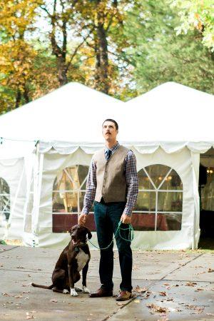 Rustic Backyard Wedding in the Woods