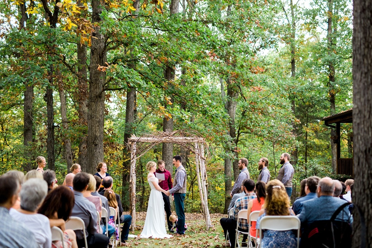 Wedding in the Woods, Wedding Photography, St. Louis Wedding Photographer