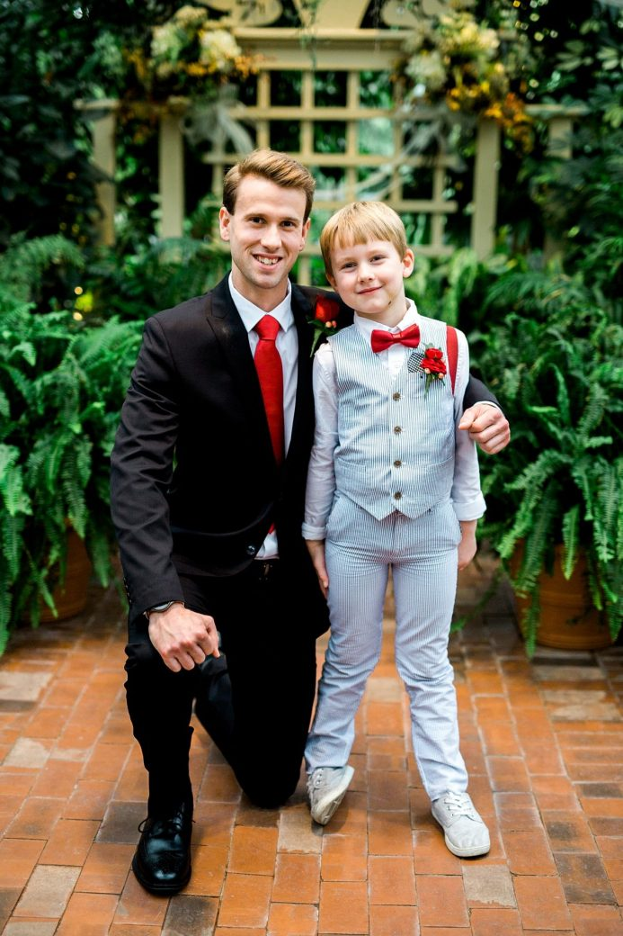 Groom and Ring Bearer Photo, Wedding Photography Poses, St. Louis Wedding Photographer