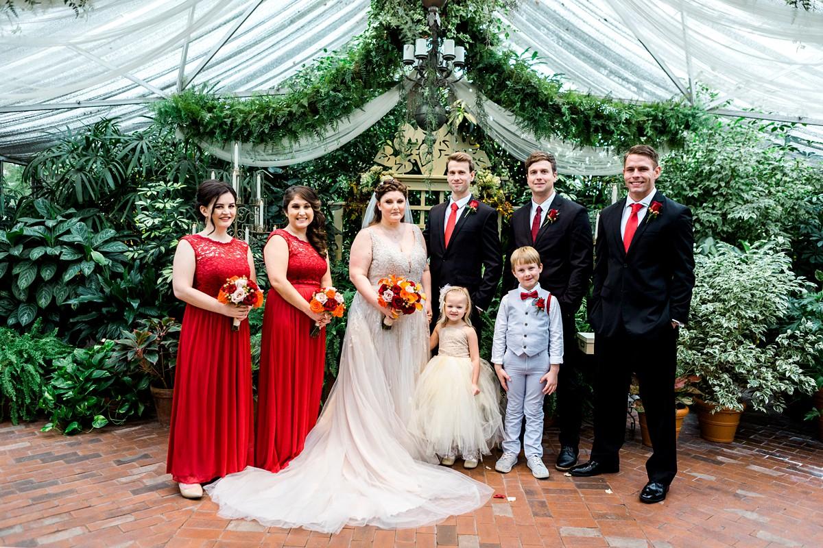 Wedding Party Portrait, Bridal Party Portrait Posing, Wedding Photography Poses, St. Louis Wedding Photographer