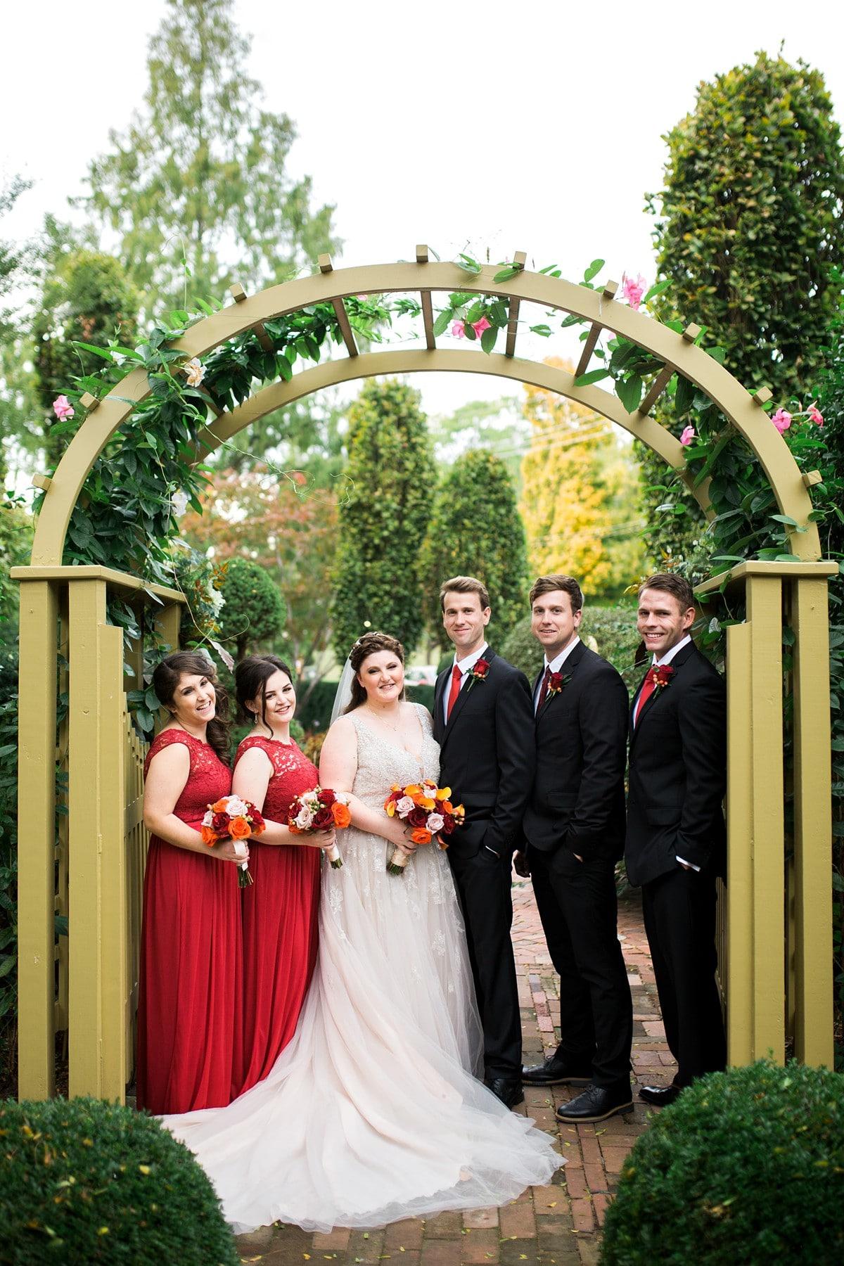 Wedding Party Portrait, Wedding Photography Poses, St. Louis Wedding Photographer