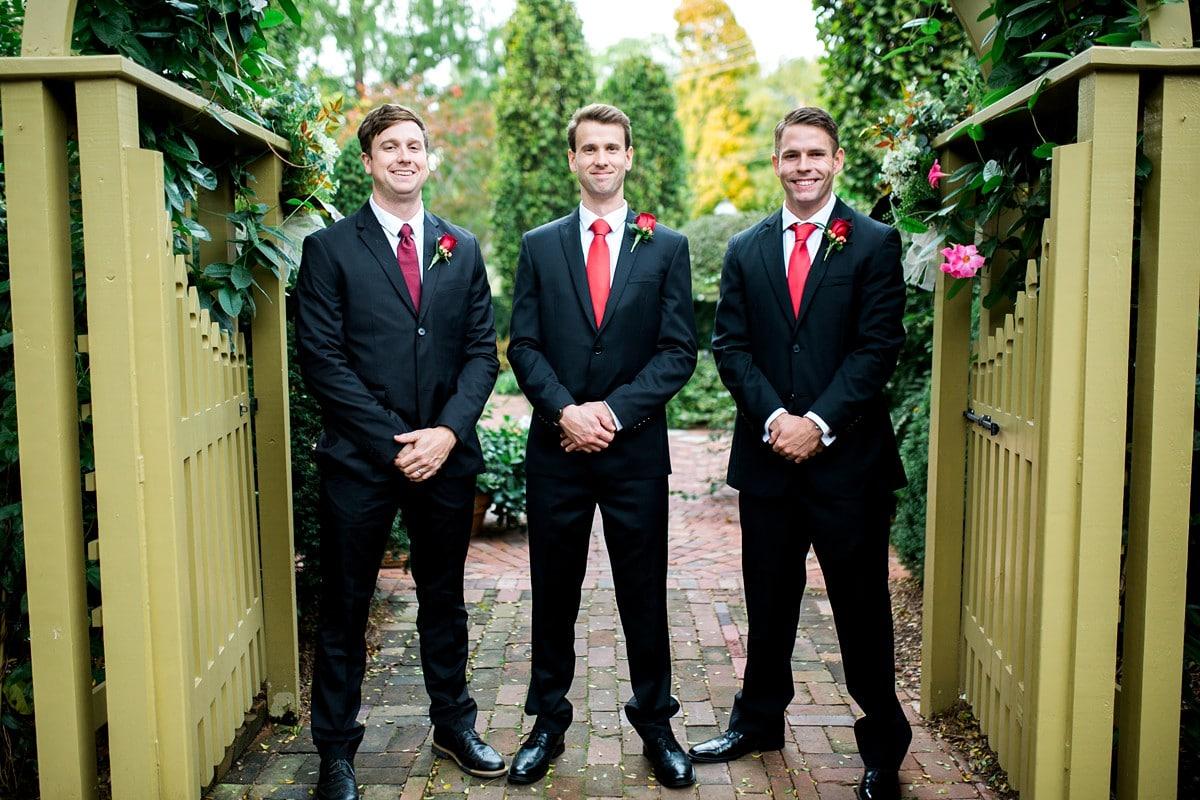 Groom and Groomsmen, Wedding Photography Poses, St. Louis Wedding Photographer