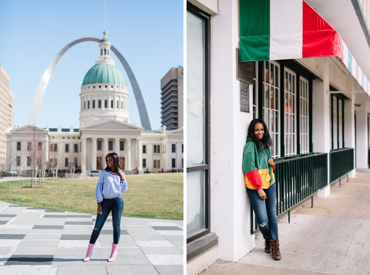 Photographer for Fashion Bloggers in St. Louis, MO