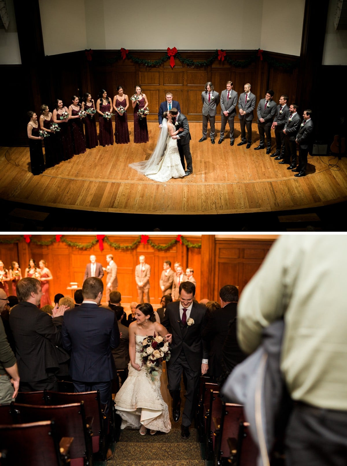 St. Louis Wedding Photographer, Wedding Ceremony at the Sheldon Concert Hall and Art Galleries
