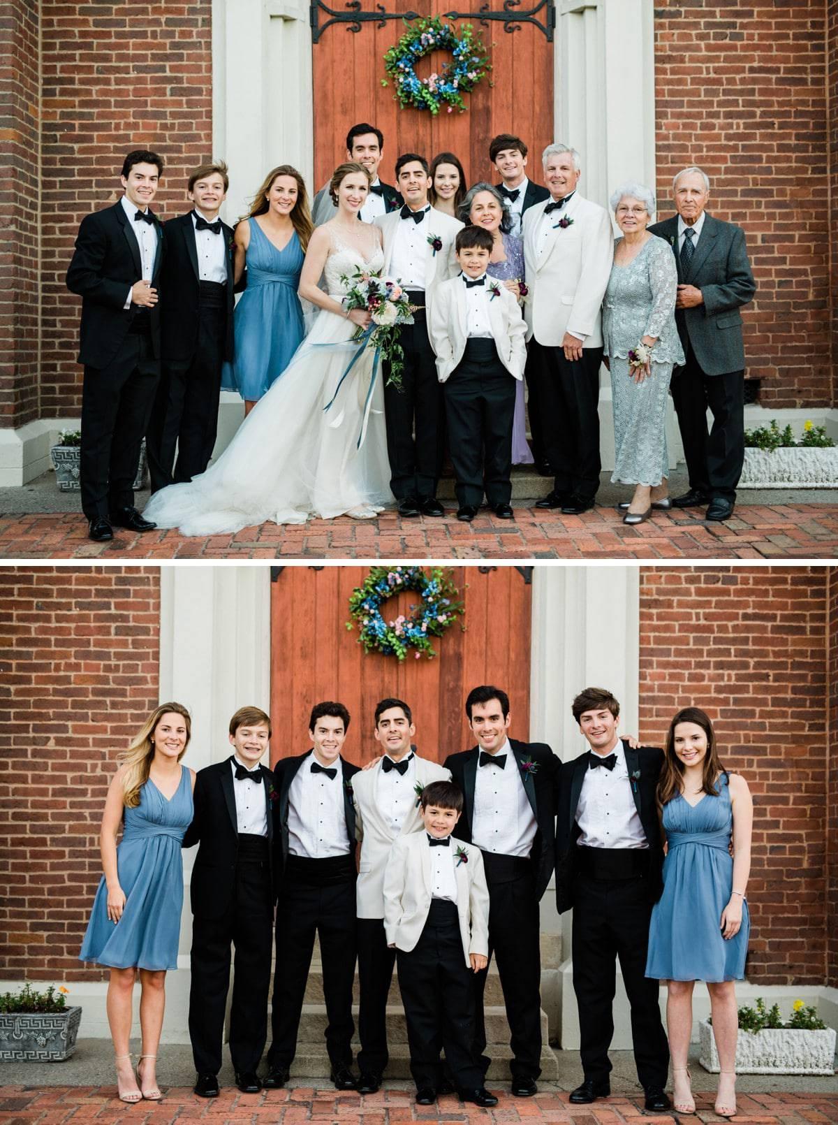 Church of the Assumption Wedding Photography in Nashville, TN