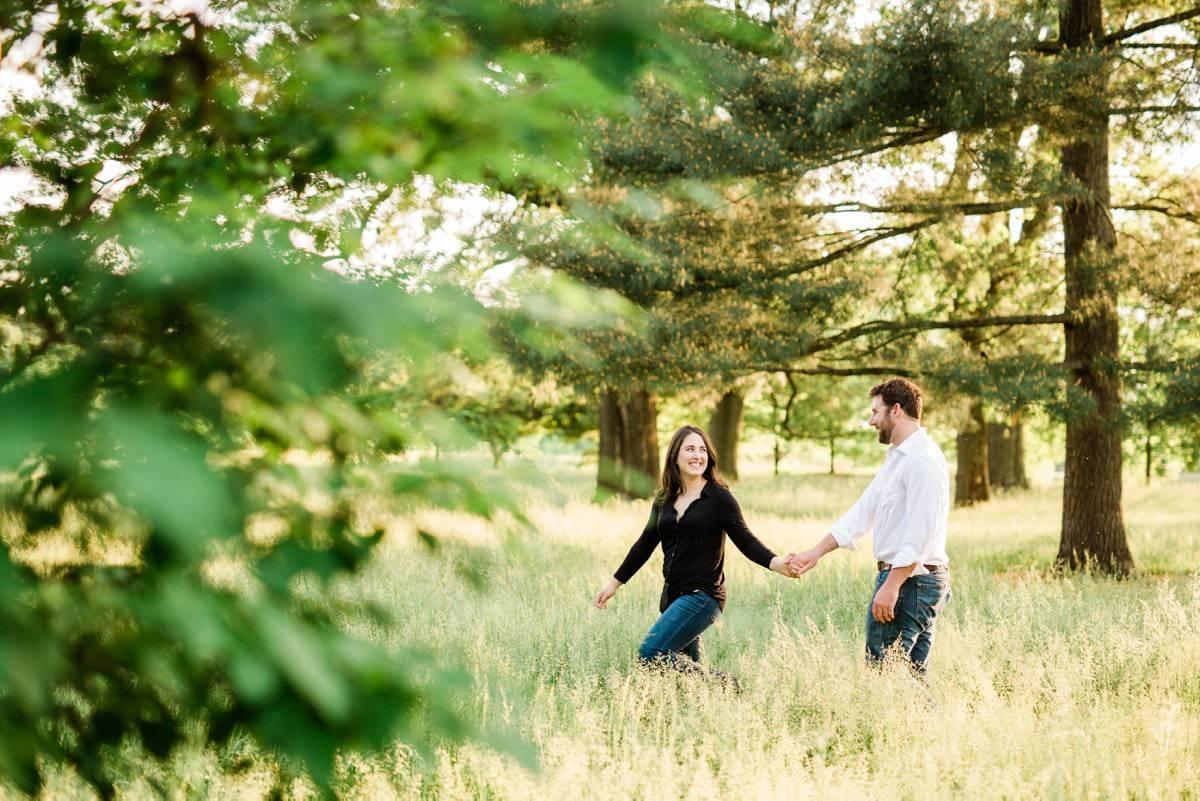 St. Louis Forest Park Engagement Photographer